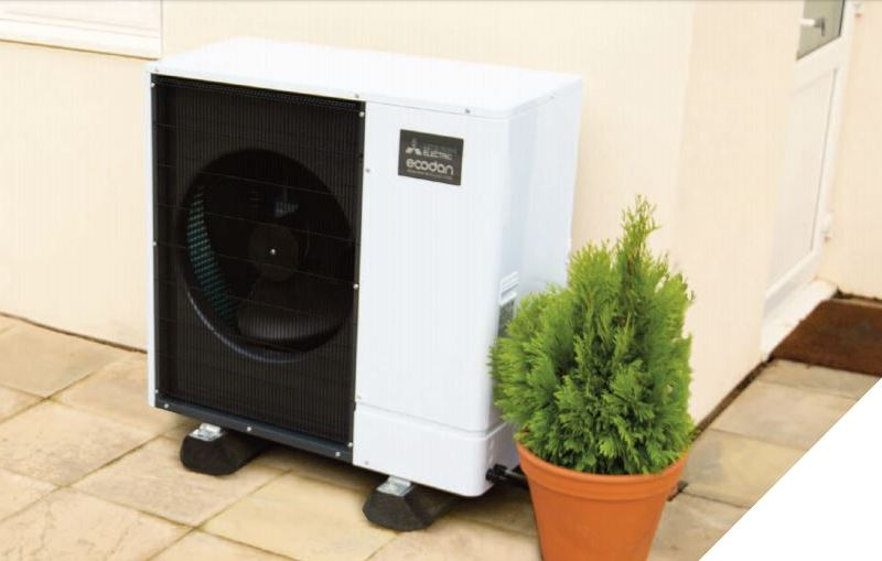 Homeowner makes the jump from oil to air source heat pump