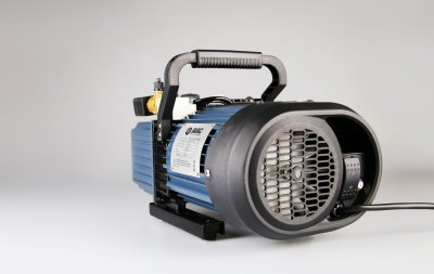 R32-ready and dual voltage - JAVAC Bulldog A2L Spark Proof Vacuum Pump