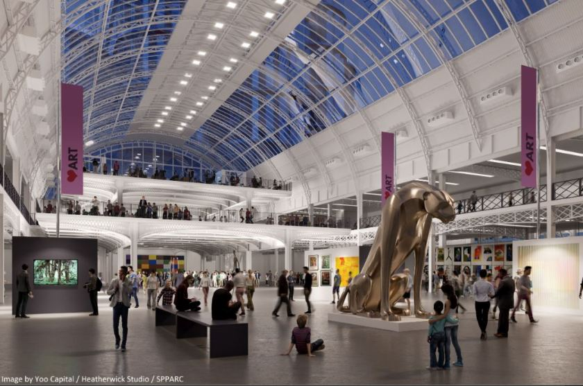 New image of £1bn regeneration of London Olympia