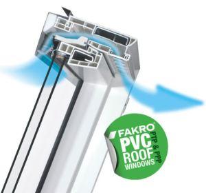 PVC roof windows