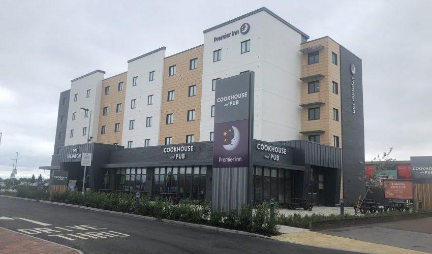 Triton Construction - Premier Inn, Skegness