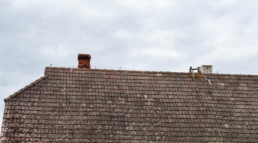 sccessing sloped roofs