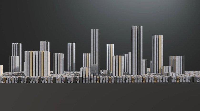 Hybrid City Skyline