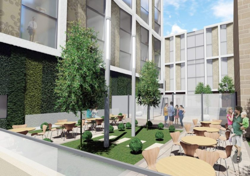 Planning application submitted for Nottingham's Guildhall development 1
