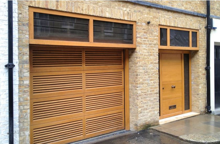 Rundum Meir doors with integrated vents offer fresh thinking for air flow in garages 2