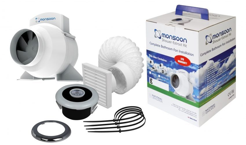Monsoon Shower Fan Kits