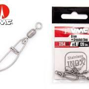 VMC 3254SS Inox Crane + Crosslock Swivel Size 1 56lb.