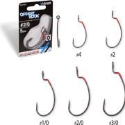 Quantum 4Street Offset Hooks size 1/0