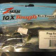 Z-Man Pop FrogZ 4'' Mud Minnow 4 Pack