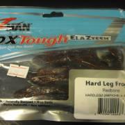 Z-Man Hard Leg FrogZ 4'' Redbone 3 Pack