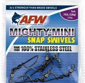 AFW Mighty Mini Stainless Steel Crane Swivels 100lb Size 12