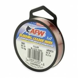 AFW Bleeding Leader Wire 30lb