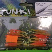 Gunki Kiddy 50 Orange Chart Belly 12 pack