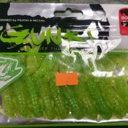 "Gunki Boogie Craws 3"" Lime Chart 10 pack"