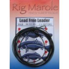 Rig Marole Lead Free leader Green 1m with Fast Change Swivel