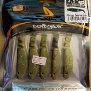 Wake Flexfish Softbaits 3.5'' Zander Special Pack of 5