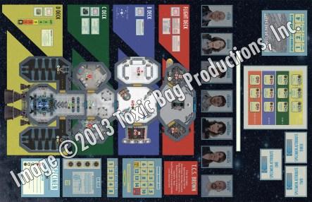 Specimen Game board/ship map