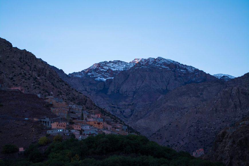 Sunrise on Mount Toubkal