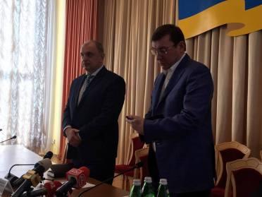 «Технічна заміна»: Луценко представив нового очільника прокуратури Рівненщини (ВІДЕО)