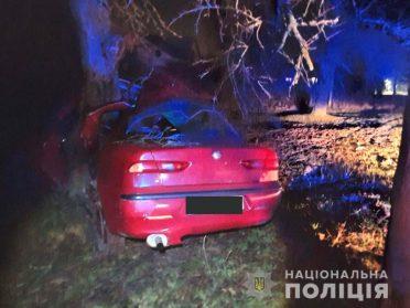 На Рівненщині водій в'їхав в дерево і загинув