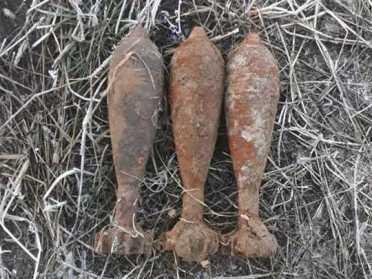 У Рівненському районі піротехніки ДСНС знищили 3 мінометні снаряди