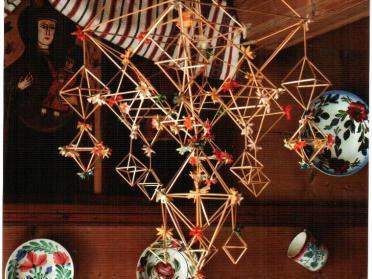 Солом'яними іграшками вбирали оселю на Різдво у давнину