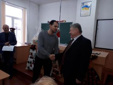 В Костопільській школі замінили директора, який пропрацював 15 років