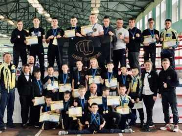 Рівненські кікбоксери на Чемпіонаті України завоювали 25 медалей
