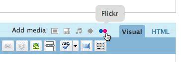 Wordpress Flickr Plugin