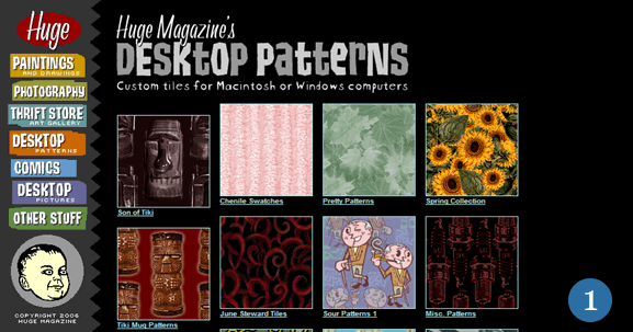 Background and Patterns Resources