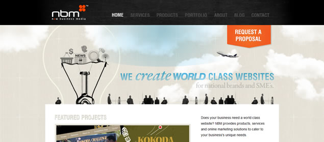 50 Amazing Web Design Agency Designs