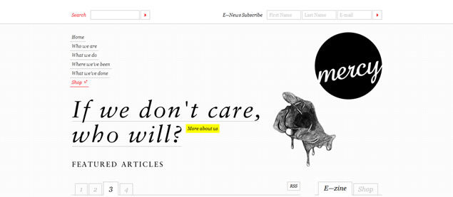 Mercy - Awesome Blog Designs
