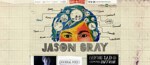 Jason Gray - Awesome Blog Designs