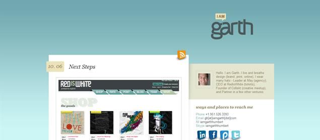 I am Garth - Awesome Blog Designs