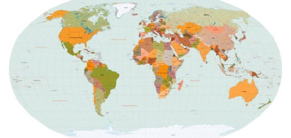 Vector world maps eps and g formats prosoxi eps vector maps for designers eps format gumiabroncs Image collections