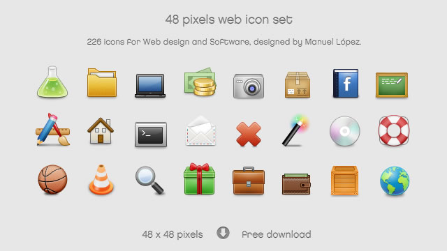 Web Iconset