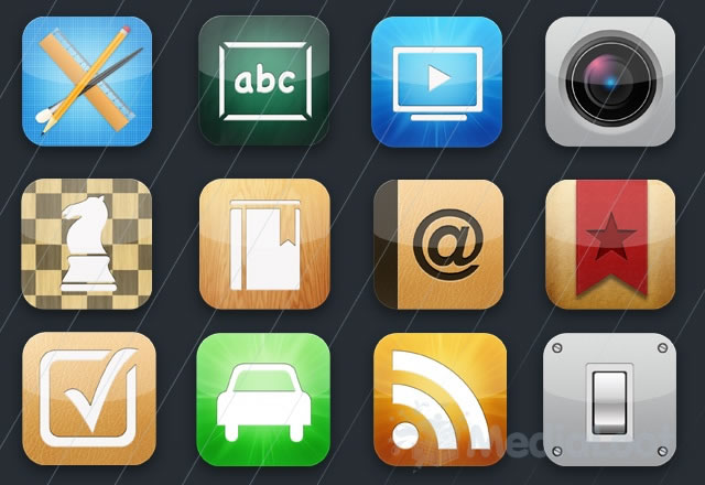 Free iPhone App Icon Kit