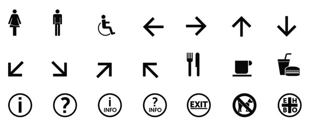 Symbol Signs @fontface font