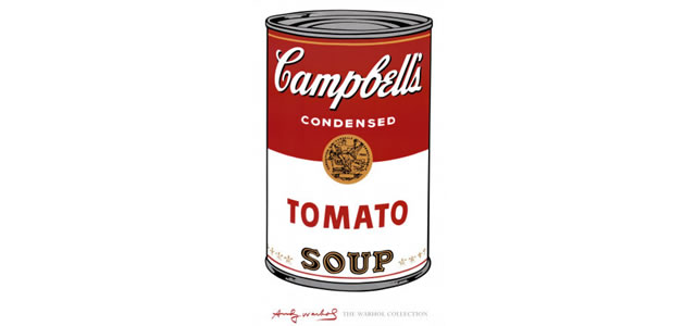 Campbell's Soup (1968) - Andy Warhol