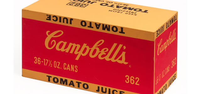 Campbell's Soup Juice Box (1968) - Andy Warhol