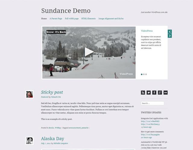 Sundance Responsive