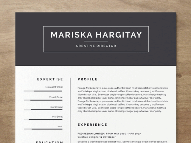 free indesign resume template   Fast lunchrock co free indesign resume template