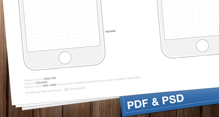 iPhone sketch ios iphone ipad mobile app free wireframe kit template UI design