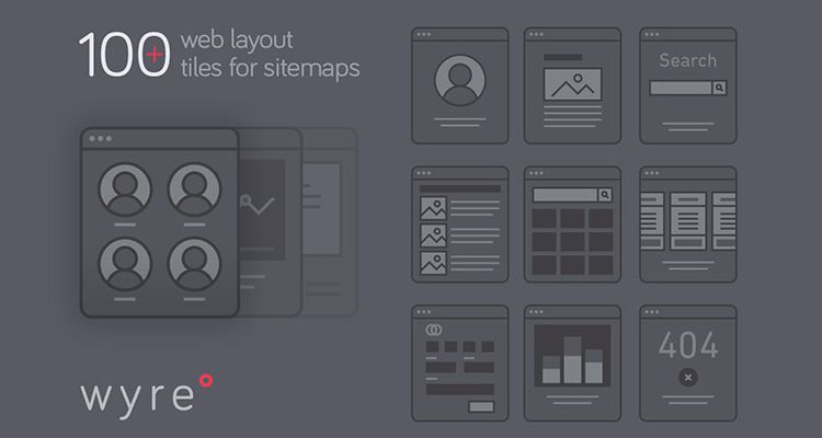 50 Free Wireframe Templates for Mobile  Web and UX Design Wyre Web Layout Flowcharts AI EPS SVG illustrator ux flowchart userflow  development free wireframe kit template