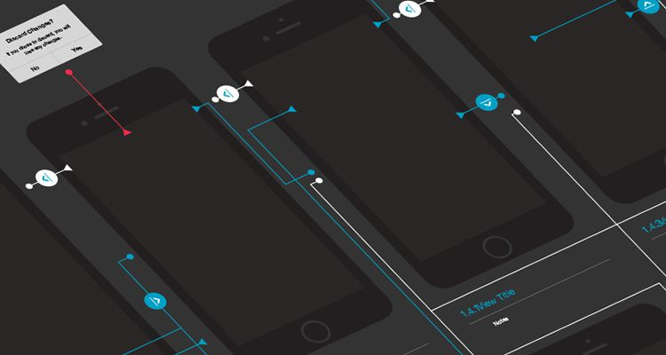 50 Free Wireframe Templates for Mobile  Web and UX Design iPhone 6 Workflow ai illustrator ux flowchart userflow development free  wireframe kit template UI design
