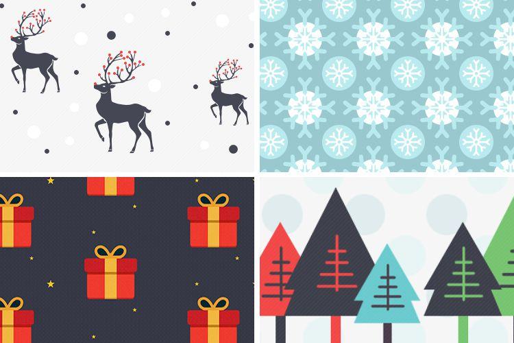 6 patrones de Navidad gratis, vacaciones gratis