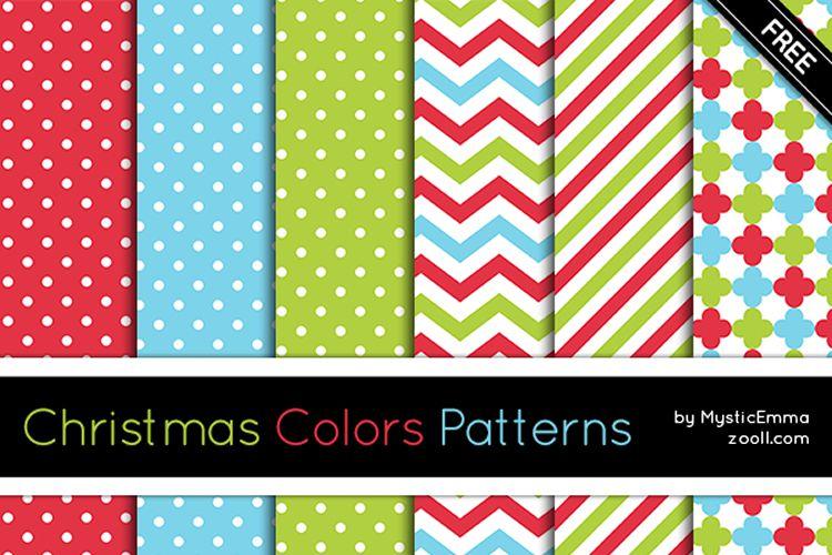 20 patrones de colores navideños para Photoshop vacaciones gratis