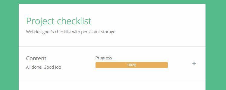 Web Designers Checklist App designer news