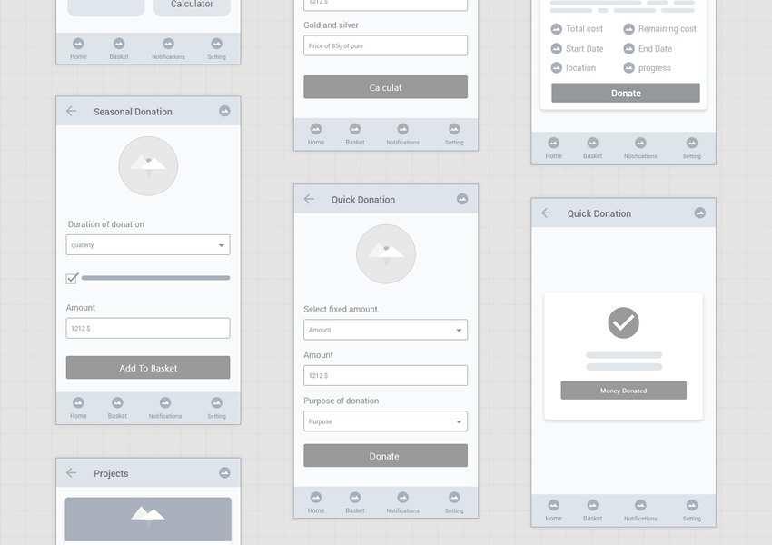 Free Mobile App Wireframe Kits for Adobe XD
