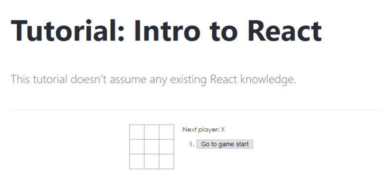 Intro to React